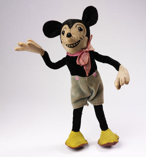 Mickey Mouse, Deans Rag Book Co. Ltd, England, c1930 copyright Victoria and Albert Museum