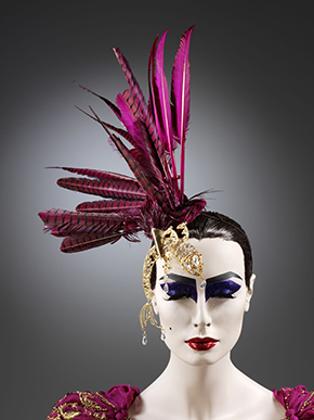 Feathered hat by John Galliano for Christian Dior, 2006-2007