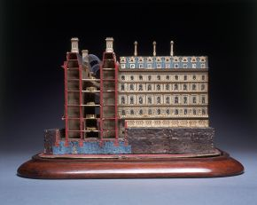 Andrew Clarke, Architectural model for the rebuilding Whitehall, 1869, V&A: A.14-1973, © Victoria and Albert Museum, London