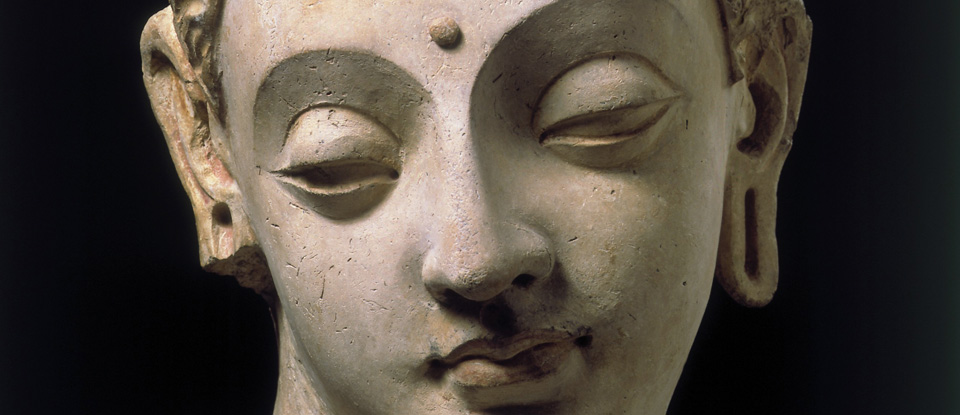 Buddha Head Art