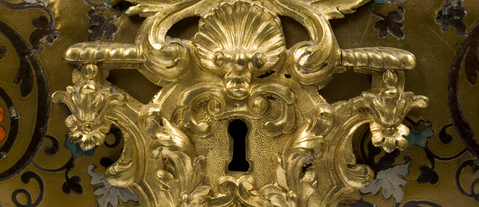 Gold and ormolu