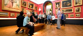 Free talks and tours programme