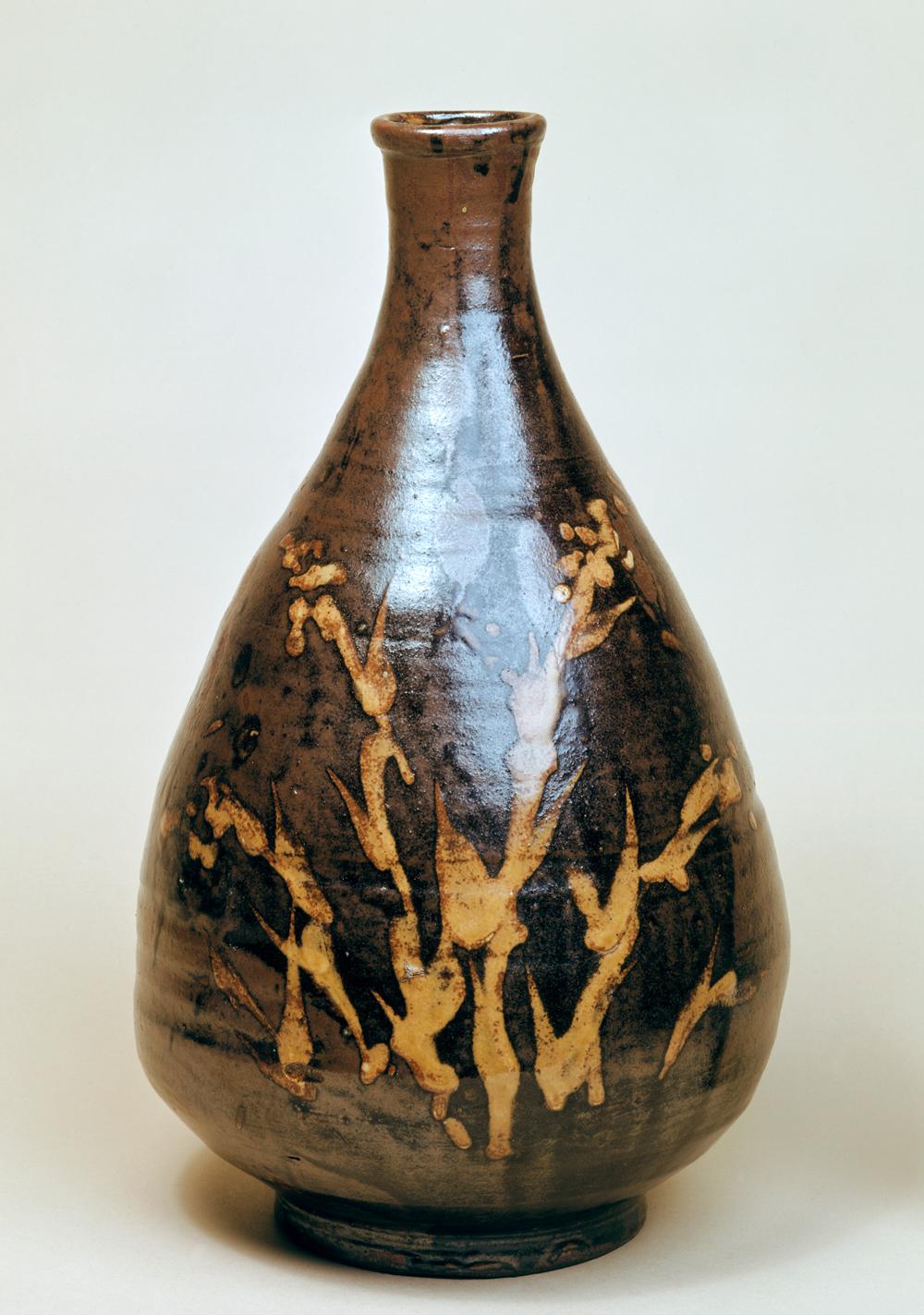 Western arts and crafts - Bottle Shoji Hamada About 1935 Museum No C 33 1943