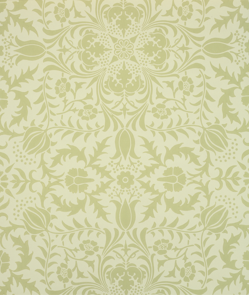 William morris wallpaper design victoria and albert museum for Designer wallpaper uk