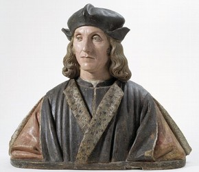 Bust of King Henry VII, Pietro Torrigiano, 1509-1511. Museum no. A.49-1935