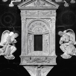 Detail of chancel chapel from Santa Chiara, about 1493–1500. Museum no. 7720-1861