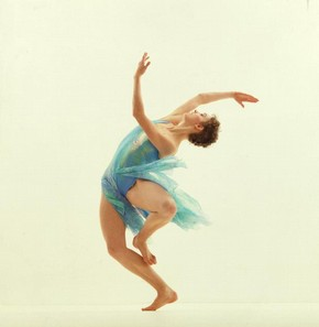 Airs, Ballet Rambert, colour photograph, 1982