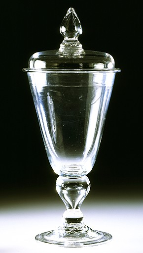 Goblet and cover, about 1695, Museum no. C.536-1936
