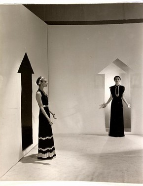 Cecil Beaton (1904-80), Evening Dresses, 1936, Gelatin silver print, Museum no. Ph.193-1977