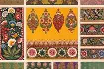 Owen Jones, Grammar of Ornament, Indian no. 4, Plate LII, 1865. National Art Library, Ref No. ND.91-0040 (Vol II)