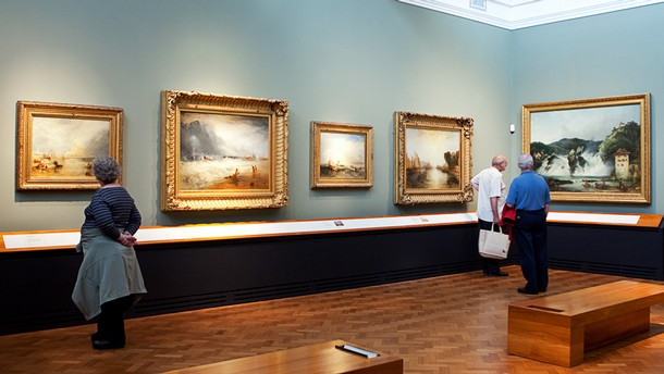 Constable, Turner & the Exhibition Landscape, room 87