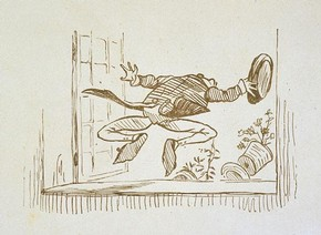 Randolph Caldecott, 'A Frog he would a woo-ing go', 19th Century. Museum no. E.267-1899