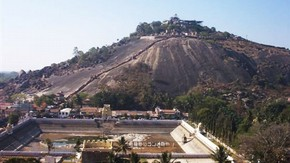 View of Sravanabelagola, Raju Shah, 2006