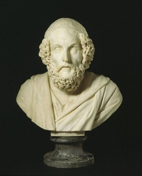 Bust of Homer, Francis Harwood, 1764. Museum no. A.8-1958.