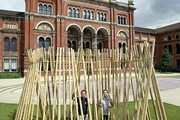 The celebrated Brazilian design duo, the Campana Brothers, with their special commission in the John Madejski Garden