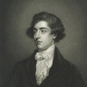 William Beckford at the age of 21, engraved after a painting by Sir Joshua Reynolds, 1835. Museum no. E.2046-1919