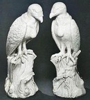 'King Vulture', porcelain, Meissen, about 1731, standing versions. Christie's Images Ltd