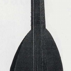 Fig 4. A Lute made by Arnold Dolmetsch, 1893. Reproduced with permission from The Horniman Museum, London.