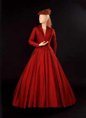 Costume worn by Vivien Leigh as Paola in 'Duel of Angels', by Jean Giraudoux (1882-1944), designed by Christian Dior, Apollo Theatre London, 24 April 1958. Museum no.1905-57