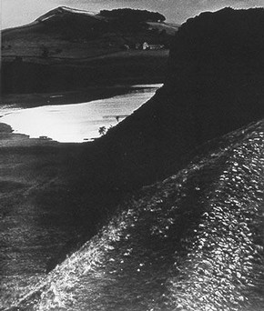 Bill Brandt, 'Hadrian's Wall', 1943, cropped view. © Bill Brandt Archive Ltd