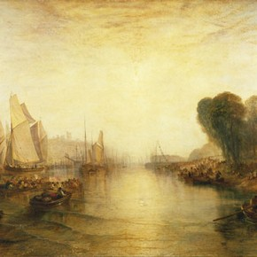East Cowes Castle, Joseph Mallord William Turner, click for the full size version and additional information about this image