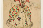 Costume design for Phyllis in Gilbert and Sullivans 'Iolanthe', 
