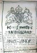 Stefan Themerson, 'Kurt Schwitters in England: 1940 – 1948', London, Gaberbocchus Press,1958. NAL pressmark : 22.H.112