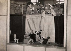 The London Marionette Theatre, Keystone View, mid 20th century