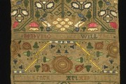 Sampler, Unknown, 1650-1700. Museum no. 480-1894