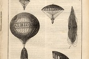 Mr Hampton's Balloon, June 1839