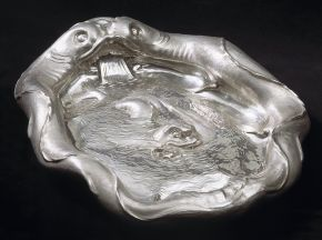 The Dolphin Basin, Christiaen van Vianen, 1635. Museum no. M.1-1918, © Victoria and Albert Museum, London
