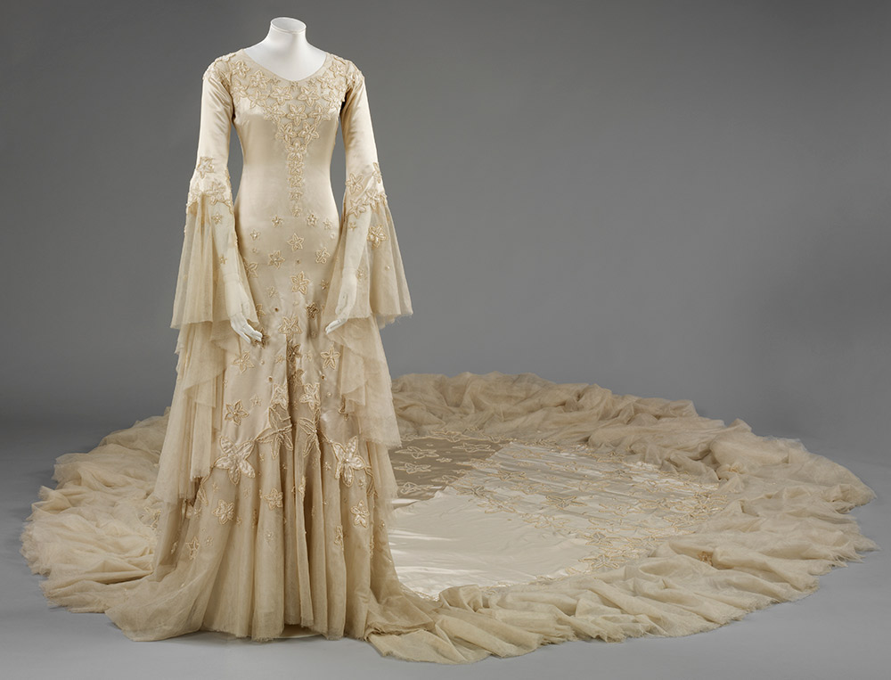 Margaret, Duchess of Argyll's wedding gown