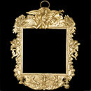 Frame, Pierre Germain, 1677, France (Paris), silver, gilding, embossing, matting, chasing, engraving. Museum no. 738-1882, © Victoria and Albert Museum, London