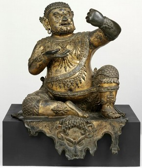 Figure 1b - The Mahasiddha Virupa (Museum no. IS.12-2010) after cleaning