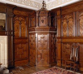 Inlaid Room at Sizergh Castle, © National Trust Images/Andreas von Einsiedel
