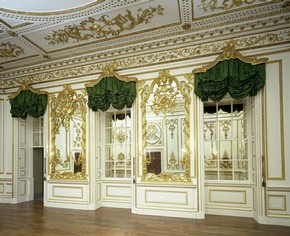 View of the Norfolk House Music Room, British Galleries, V&A