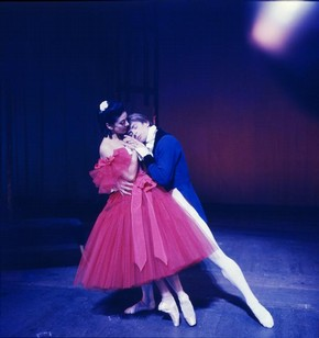 Marguerite and Armand, colour photograph by Anthony Crickmay, about 1960
