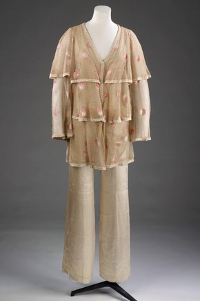 Jacket and trousers by Granny Takes a Trip, c. 1969. Museum no. T.260:1-2009