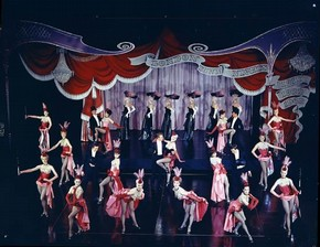 Floorshow routine for Talk of the Town, Houston Rogers, 1962