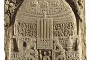 Drum slab, Amaravati, British Museum
