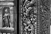 Detail of column, Udayagir. © John Huntington