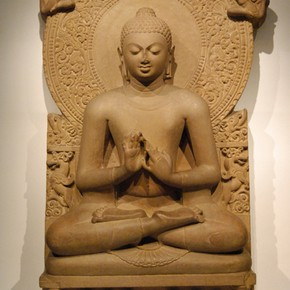 Seated Buddha, Sarnath Museum. ©John Huntington