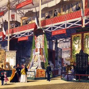 France at the Great Exhibition, Joseph Nash, England, 1851. Museum no. NAL 207749