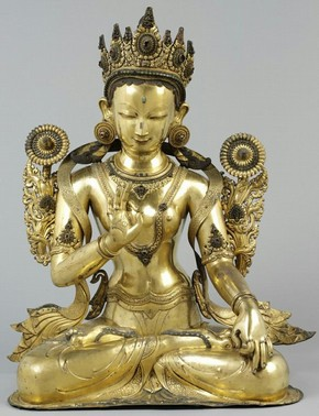 Figure 2 - White Tara, Tibet, 16th century. Museum no. IM.28-1919