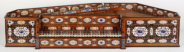 Spinet, Annibale Rossi, Milan, 1577. Museum no. 809-1869