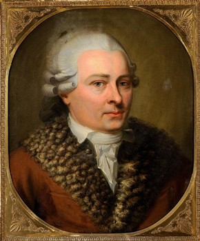Portrait of David Roentgen aged about 45, about 1785-90. Roentgen-Museum Neuwied, Inv. No. 3525