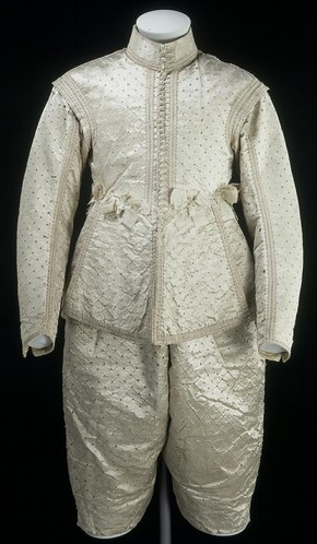 Doublet and breeches, 1630-1649, Museum no. 348-1905
