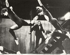 Cruel Garden, Ballet Rambert, black and white photograph, 1977