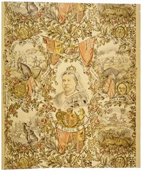 Sanitary wallpaper, 1887. Museum no. E.791-1970