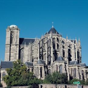 Cathedral of St Julien, Le Mans, France. Photograph © Photographies Gilles KERVELLA / éditions de la Reinette.